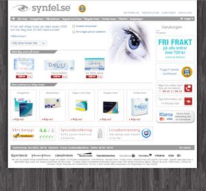 screenshot på Synfel