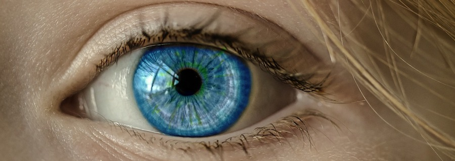 högt blodtryck ögon